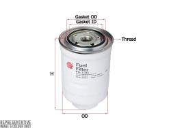 Фильтр топливный Sakura FC1104