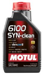 Моторное масло Motul 6100 Syn-Clean 5W-40 (1 л.) 107941