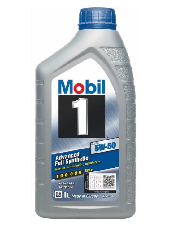 Моторное масло Mobil 1 FS X1 5W-50 (1 л.) 153631