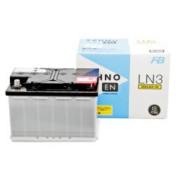 Аккумулятор Furukawa Battery ECHNO EN 72Ah 730A 278x175x190 о.п. (-+) 390LN3-IS