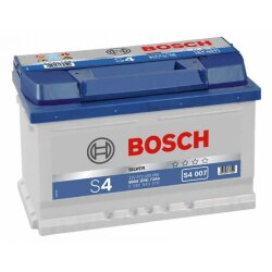 Аккумулятор Bosch S4 72Ah 680A 278x175x175 о.п. (-+)