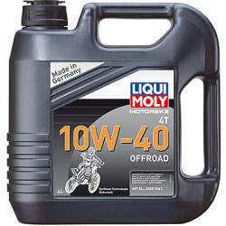 Масло четырехтактное Liqui Moly Motorbike 4T Offroad 10W-40 (4 л.) 3056