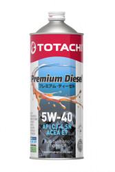 Моторное масло Totachi Premium Diesel 5W-40 (1 л.) 4562374690738