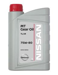 Трансмиссионное масло Nissan MT XZ Gear TL-JR 75W-80 (1 л.) KE916-99935R