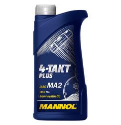 Масло четырехтактное Mannol 4-Takt Plus 10W-40 (1 л.) 1400