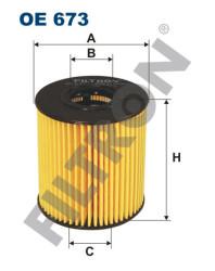 Фильтр масляный Filtron OE673