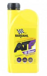 Трансмиссионное масло Bardahl ATF 8 G (1 л.) 36871