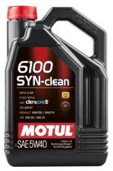 Моторное масло Motul 6100 Syn-Clean 5W-40 (4 л.) 107942