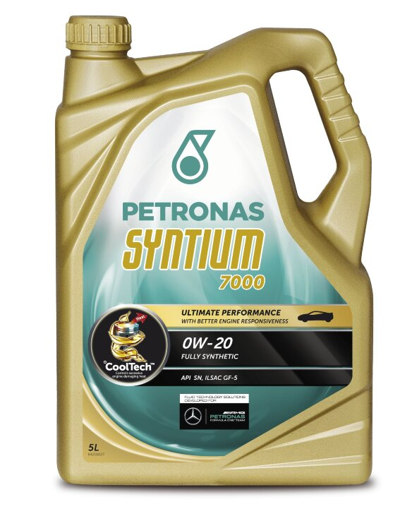 Моторное масло Petronas Syntium 7000 0W-20 (5 л.) 20375019