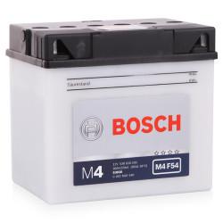 Аккумулятор Bosch M4 12V 30Ah 300A 186x130x171 о.п. (-+) 0092M4F540