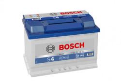 Аккумулятор Bosch S4 74Ah 680A 278x175x190 п.п. (+-)