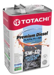 Моторное масло Totachi Premium Diesel 5W-40 (4 л.) 4562374690745