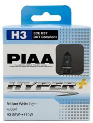 Автолампа PIAA Bulb Hyper Plus H3 4000K HE-831-H3