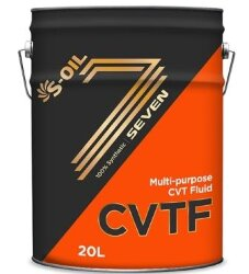 Трансмиссионное масло S-oil SEVEN ATF CVTF (20 л.) CVTF_20