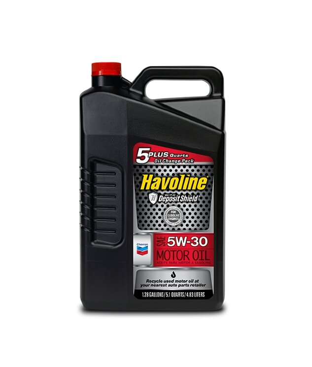 Моторное масло Chevron Havoline Motor Oil 5W-30 (4,73 л.) 023968386313