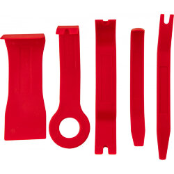 Набор для демонтажа панелей салона Thorvik, 5 предметов AURTS5