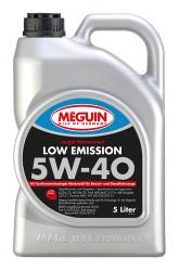 Моторное масло Meguin Megol Motorenoel Low Emission 5W-40 (5 л.) 6574