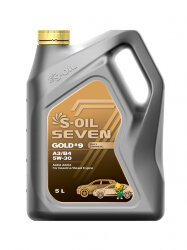 Моторное масло S-Oil Seven GOLD9 A3-B4 5W-30 (4 л.) E107772