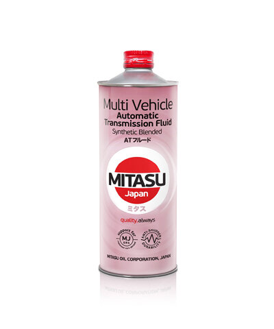 Трансмиссионное масло Mitasu Multi Vehicle ATF (1 л.) MJ3231