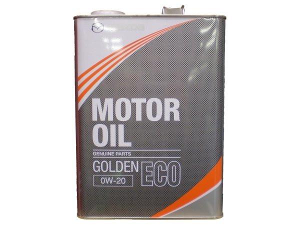 Моторное масло Mazda Golden Eco SM 0W-20 (4 л.) K004-W0-510E