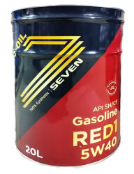 Моторное масло S-Oil Seven RED1 5W-40 (20 л.) RED5W40_20