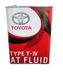 Трансмиссионное масло Toyota AT Fluid Type T-IV (4 л.) 08886-81015