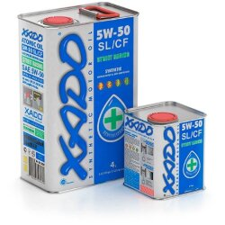 Моторное масло XADO Atomic Oil 5W-50 SL/CF (4 л.) XA 28207-XA 20207