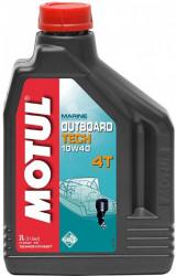 Масло четырехтактное Motul Outboard Tech 4T 10W-40 (2 л.) 106368