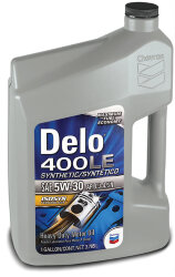 Моторное масло Chevron Delo 400 LE Synthetic 5W-30 (3,785 л.) 023968381790