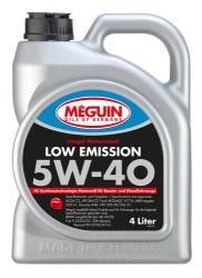 Моторное масло Meguin Megol Motorenoel Low Emission 5W-40 (4 л.) 6675