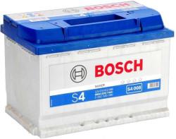 Аккумулятор Bosch S4 12V 74Ah 680A 278x175x190 о.п. (-+) 0092S40080