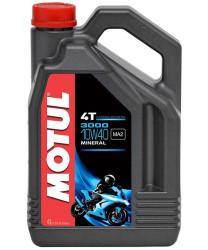 Масло четырехтактное Motul 3000 4T 10W-40 (4 л.) 107693