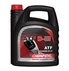 Трансмиссионное масло Chempioil ATF D-III (4 л.) S1356