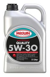 Моторное масло Meguin Megol Motorenoel Quality 5W-30 (5 л.) 6567