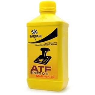 Трансмиссионное масло Bardahl ATF Speed D III Multivehicle (1 л.) 432040