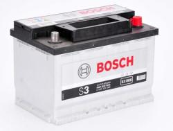 Аккумулятор Bosch S3 12V 70Ah 640A 278x175x190 о.п. (-+) 0092S30080