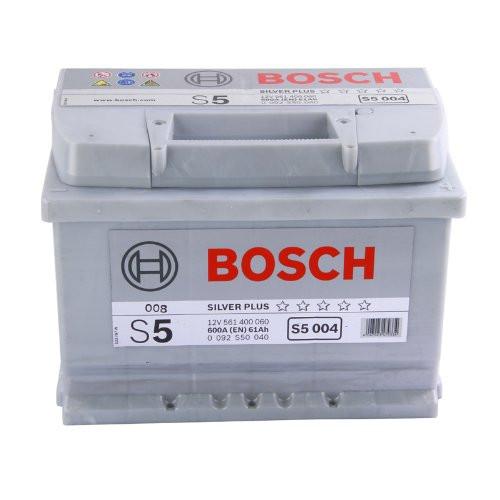 Аккумулятор Bosch S5 61Ah 600A 242x175x175 о.п. (-+)
