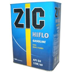 Моторное масло ZIC HIFLO 15W-40 (4 л.) 163119