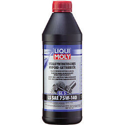 Трансмиссионное масло Liqui Moly Vollsynthetisches Hypoid-Getriebeoil  LS 75W-140 (1 л.) 8038