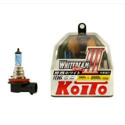 Автолампа Koito Whitebeam H16 4000K P0749W