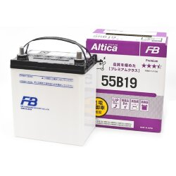 Аккумулятор Furukawa Battery Altica PREMIUM 50Ah 450A 185x125x227 о.п. (-+) 55B19L