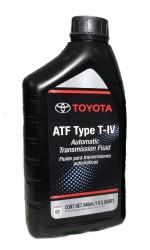 Трансмиссионное масло Toyota ATF Type T-IV (1 л.) 00279-000T46S