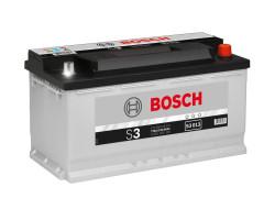 Аккумулятор Bosch S3 12V 90Ah 720A 353x175x190 о.п. (-+) 0092S30130