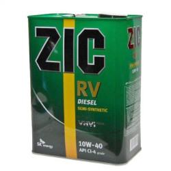 Моторное масло ZIC RV Diesel 10W-40 (4 л.) 163129