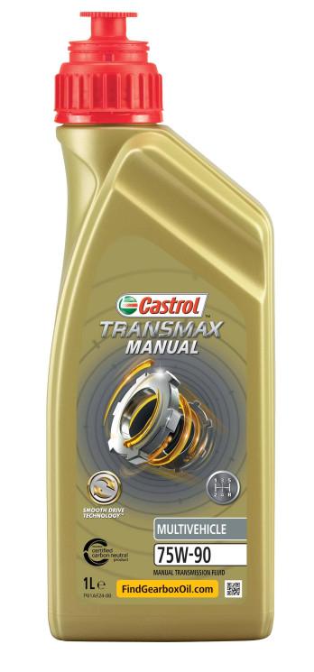 Трансмиссионное масло Castrol Transmax Manual Multivehicle 75W-90 (1 л.) 15D816