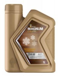 Моторное масло Rosneft Magnum Coldtec 5W-40 (1 л.) 40813832