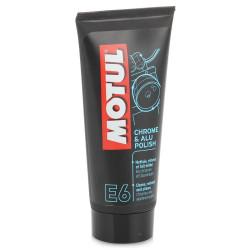 Motul E6 Chrome/Alu Polish Очиститель хрома и алюминия (0,1 л.) 103001