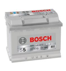 Аккумулятор Bosch S5 63Ah 610A 242x175x190 п.п. (+-)