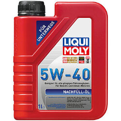 Моторное масло Liqui Moly Nachfull Oil 5W-40 (1 л.) 8027