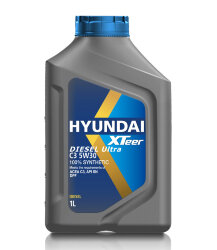 Моторное масло Hyundai (Kia) Xteer Diesel Ultra C3 5W-30 (1 л.) 1011224